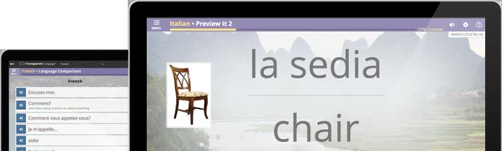Tranparent Language Online